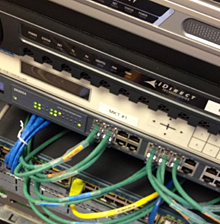 Rack Mounted Networking Components